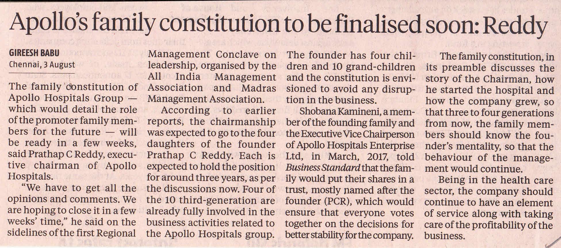 Regional Management Conclave