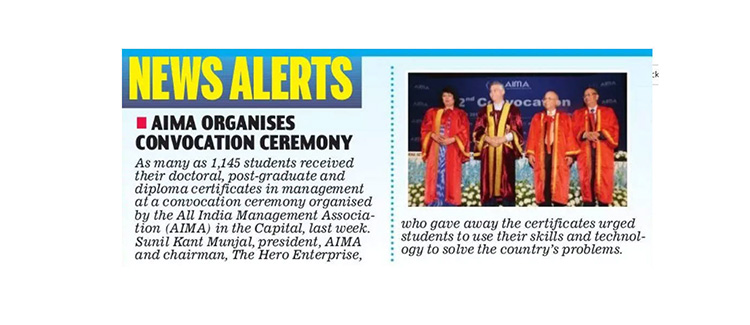 22nd AIMA-CME Convocation 2017