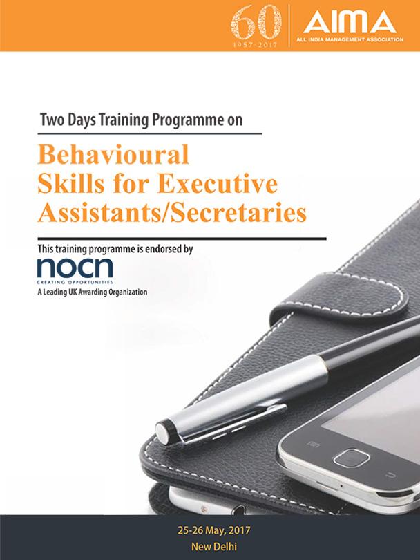 AIMA training executive assistants